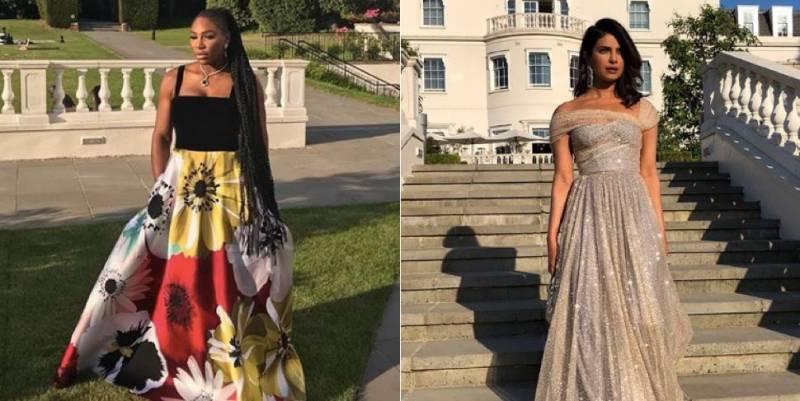 Guess what Priyanka Chopra and Serena Williams wore to the royal reception