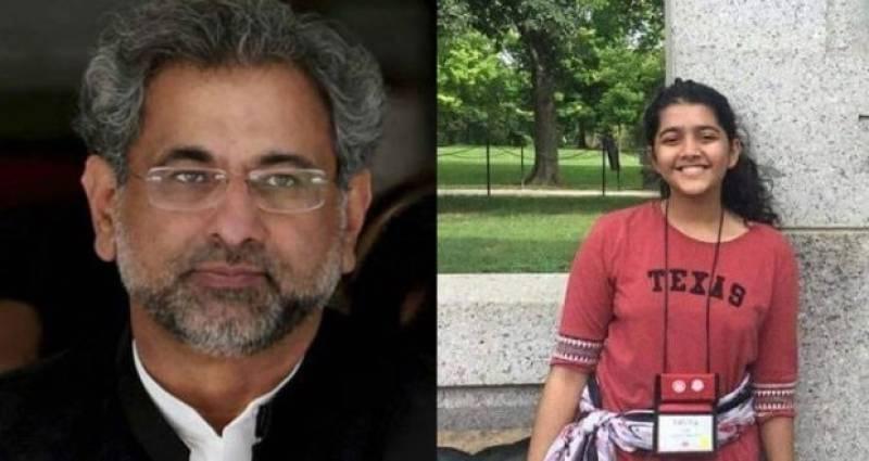 PM Abbasi offers condolence to familyofslain Pakistani student Sabika Sheikh