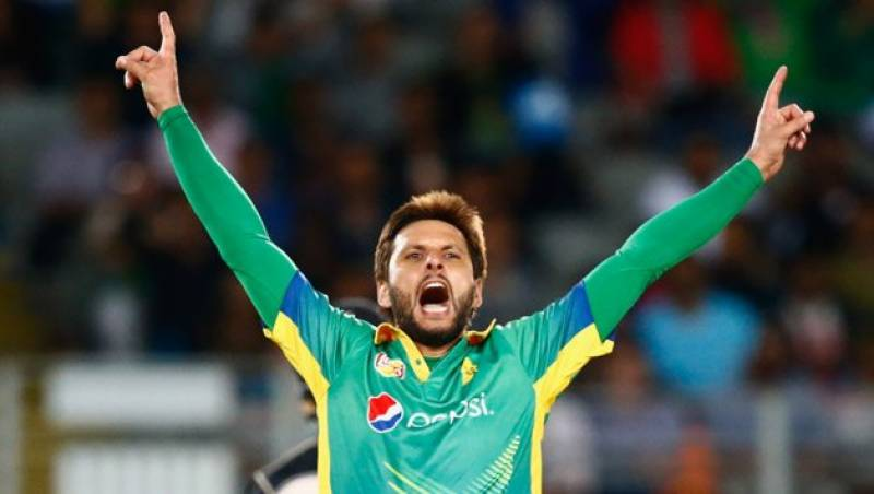 Shahid Afridi fit to play in ICC World XI vs West Indies