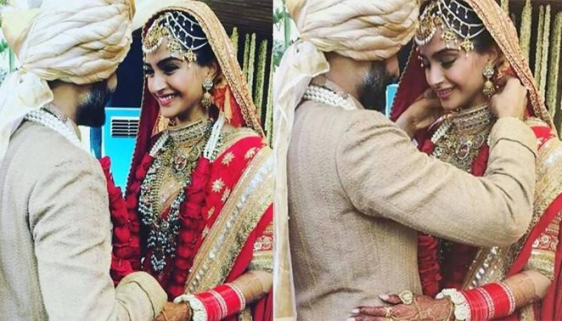Sonam Kapoor wears her 'mangalsutra' around her wrist and sets a new fashion trend