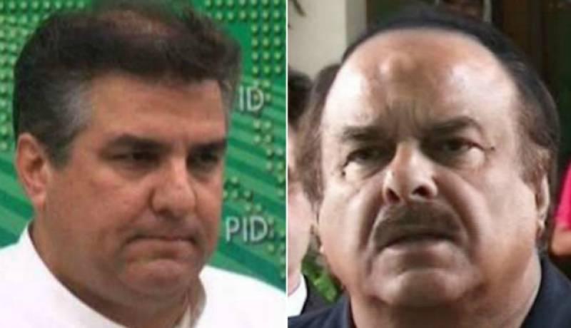 VIDEO: PTI's Naeem-ul-Haq slaps PML-N's Daniyal Aziz in a TV show