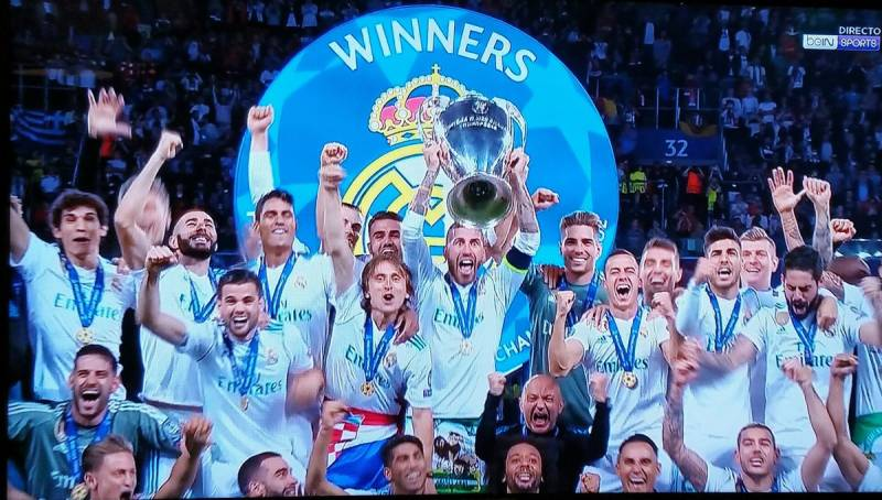 Real Madrid beat Liverpool to win UEFA Champions League 2018