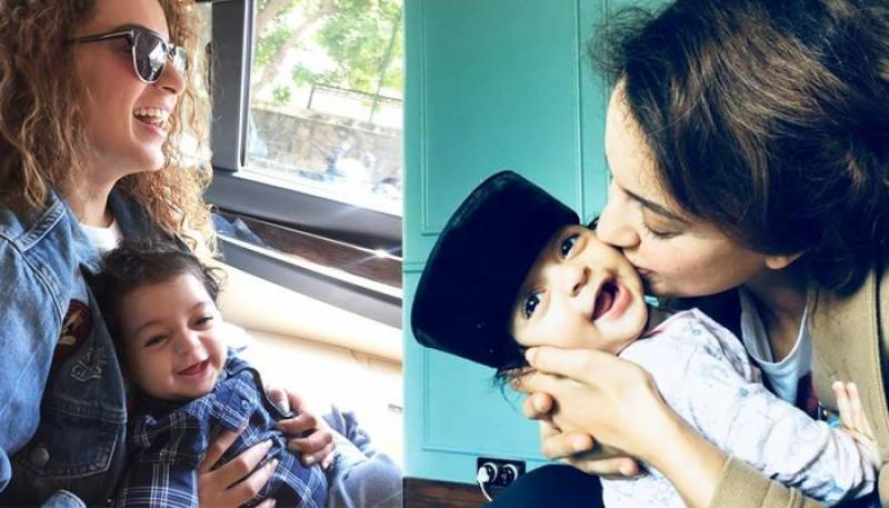 Kangana Ranaut's pictures with her nephew show a side of her we were yet to see