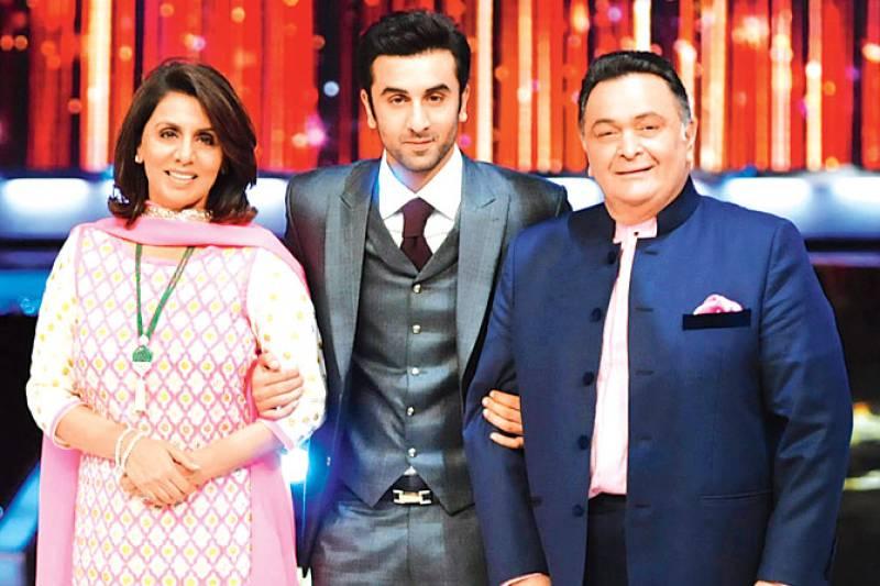 Rishi Kapoor gets emotional after watching Ranbir Kapoor in Sanju trailer