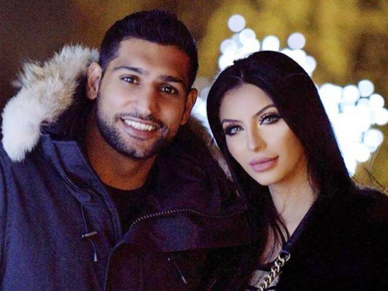 Hilarious: Amir Khan tagged the wrong Faryal on Anniversary post