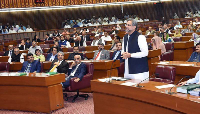 Will not tolerate a day's delay in upcoming elections, asserts PM Abbasi in farewell NA address