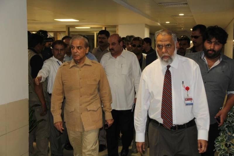 CJP Nisar bashes PKLI chief for displaying Shehbaz Sharif's portrait in hospital