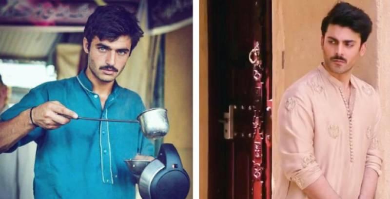 Is Fawad Khan resembling famous chaiwala in latest photo shoot?