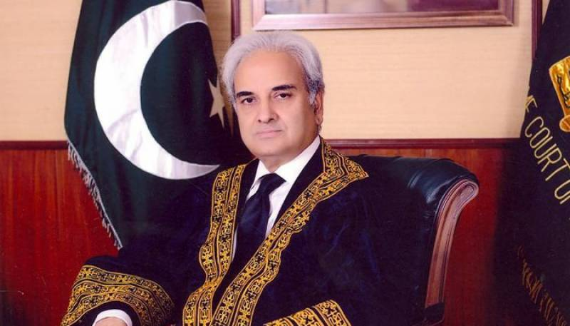 Justice (r) Nasirul Mulk directs law ministry to file appeal against LHC verdict