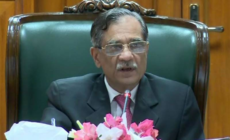 CJP Nisar tellsactual meaning of Nawaz's favouriteslogan'respect the vote'
