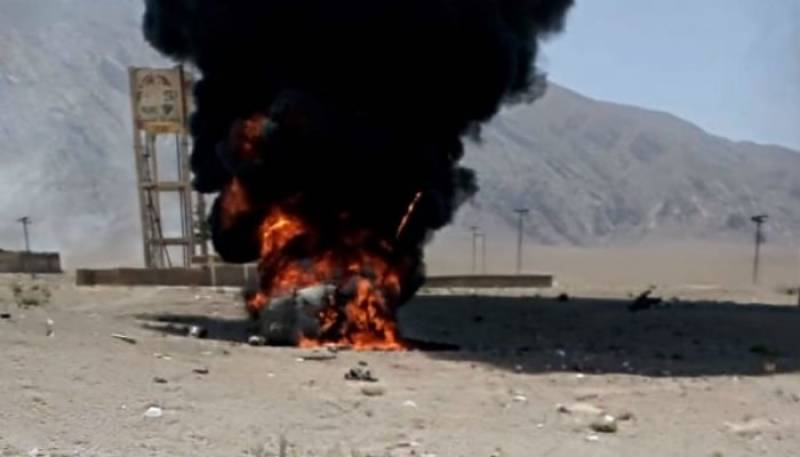 One martyred, six injured as military helicopter crashes in Quetta