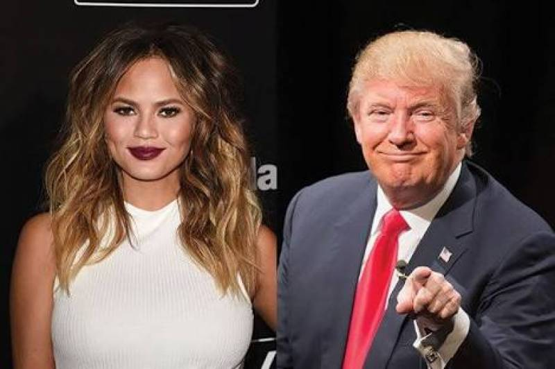 This is what happens when Chrissy Teigen asks twitter to sign birthday card for Trump