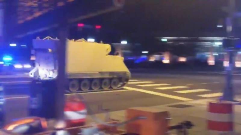 VIDEO: US National Guard held for taking joy ride in army tank