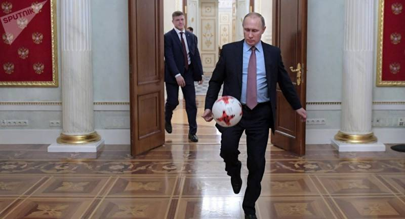 World Cup stadiums must not turn into flea markets, says Putin