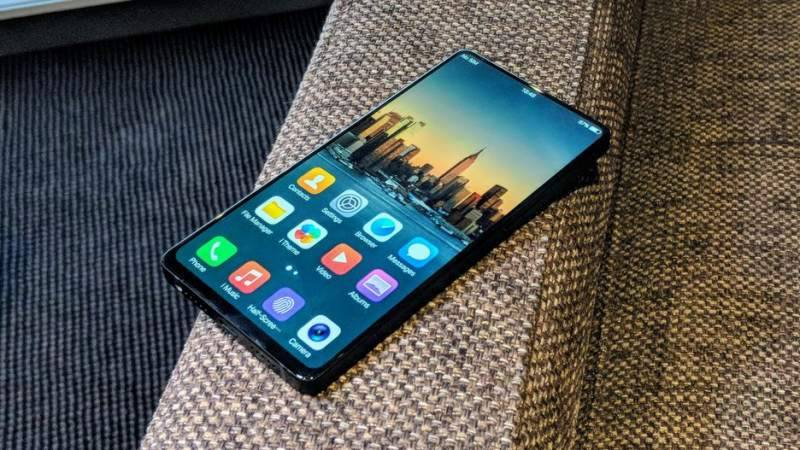 World's first bezel-less smartphone Vivo NEX images, specification revealed