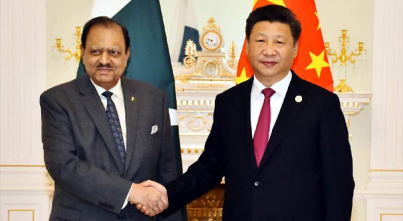Mamnoon Hussain, Xi discuss regional security, global issues in SCO summit