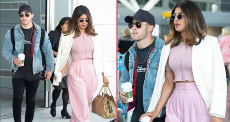 Priyanka Chopra and Nick Jonas are now airport official!