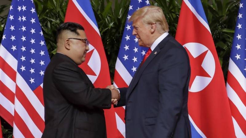 Trump, Kim sign agreement promising new relations at historic Singapore summit