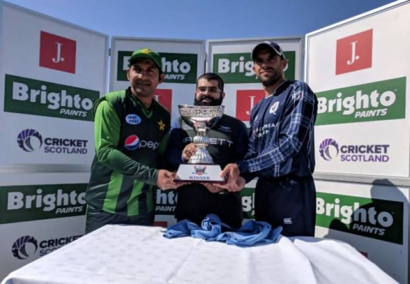 Pakistan crushScotland in 2nd T20I, wrap up series 2-0