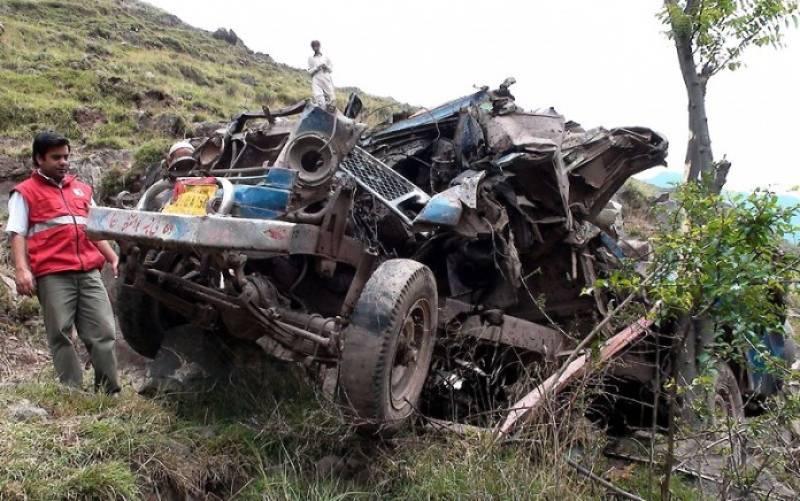 11 dead, 2 injured as jeep falls into deep ravine near Balakot