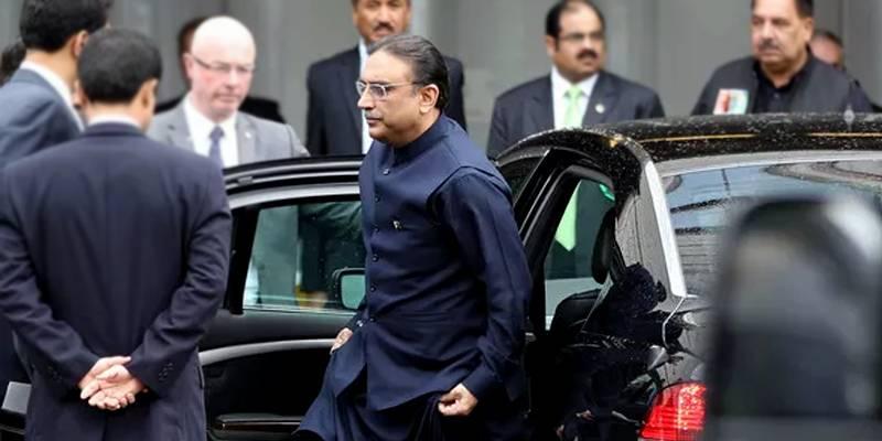 Asif Zardari declares UAE iqama, multiple luxury vehicles in nomination papers