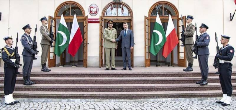 COAS Bajwa, Poland's military leadership discuss emerging geo-strategic environment