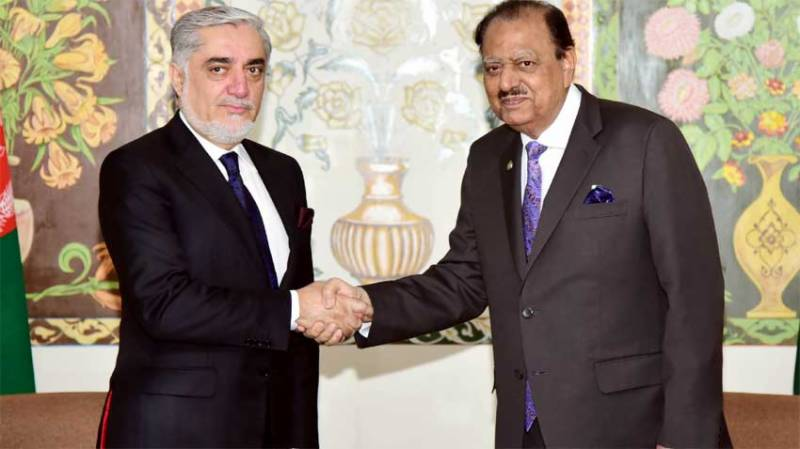 Dushanbe: Pakistan to continue cooperation for peace in Afghanistan, says President Mamnoon