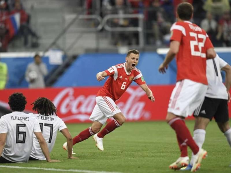 FIFA World Cup 2018: Host Russia beats Egypt 3-1