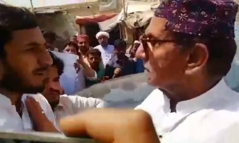 After Jamal Leghari, PPP's feudal lord Saleem Jan Mazari faces public grilling