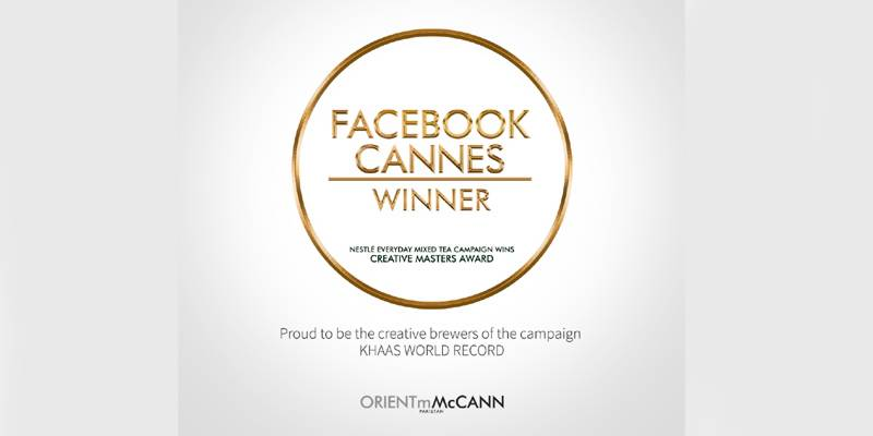 Orientm-McCANN designed 'KHAAS World Record' campaign earns creative masters award at Cannes