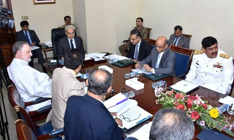 Caretaker PM Nasirul Mulk seeks early development of Gwadar port