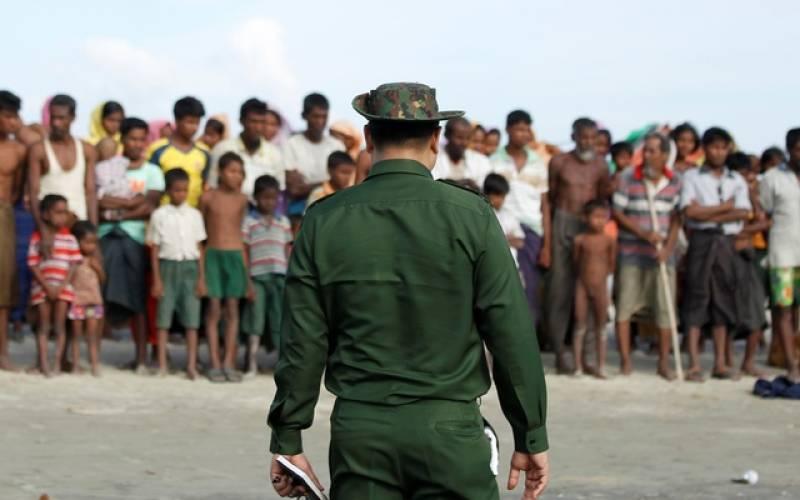 Myanmar sacks general who led violence against Rohingya Muslims