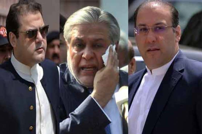 NAB to ask for Interpol help in arresting Nawaz Sharif's sons, Dar