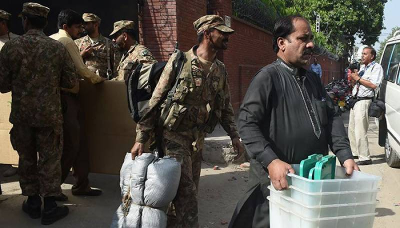 Summary sent to Ministry of Defence for deployment of army troops at polling stations