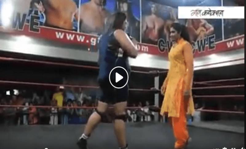 Did any Indian beat Pakistani woman in wrestling ring? truth uncovered about viral throwback video
