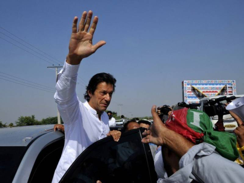 Imran Khan allowed to contest polls from NA-53