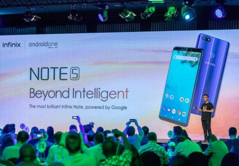 """Infinix unveils """"Beyond Intelligent"""" device Note 5 powered by Android One"""