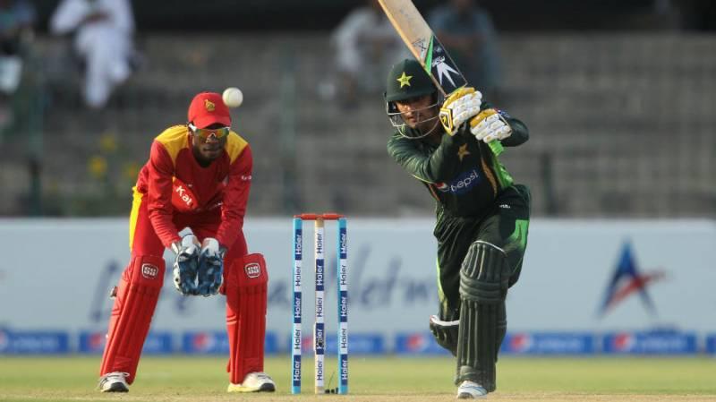 Pakistan crush Zimbabwe in opening T20I match of triangular series