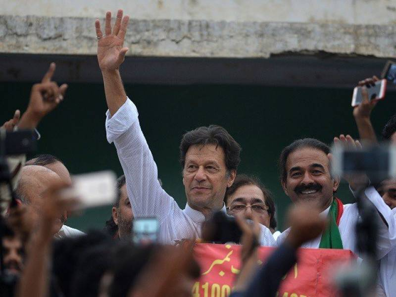 PTI releases schedule for Imran Khan's 2018 election campaign