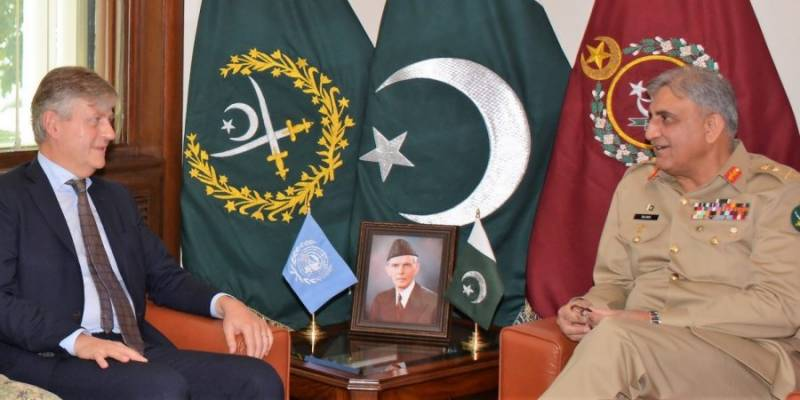 Pakistan committed to play effective role for UN peacekeeping mission: COAS