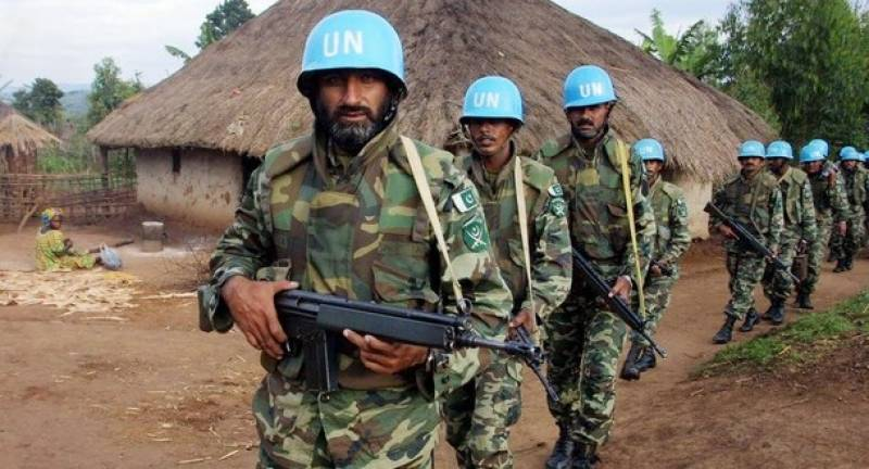 Pakistan troops' sacrifices in establishing peace across world lauded