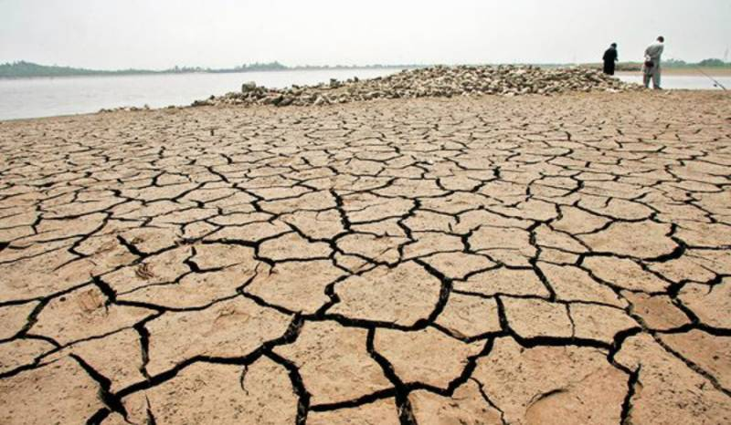 Water storage in major reservoirs plunges to 0.89 MAF