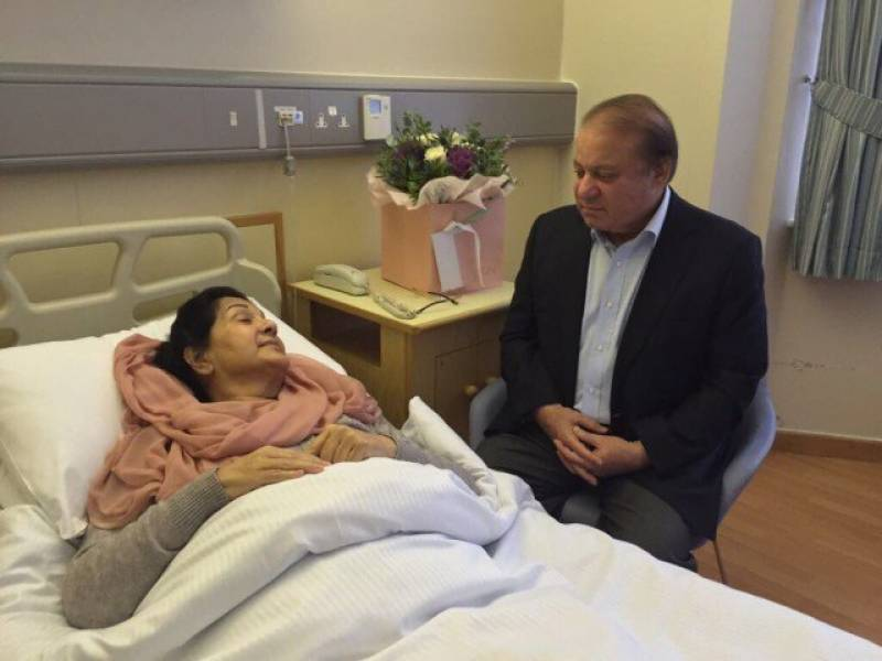 Begum Kalsoom Nawaz does not need more cardiac support: report