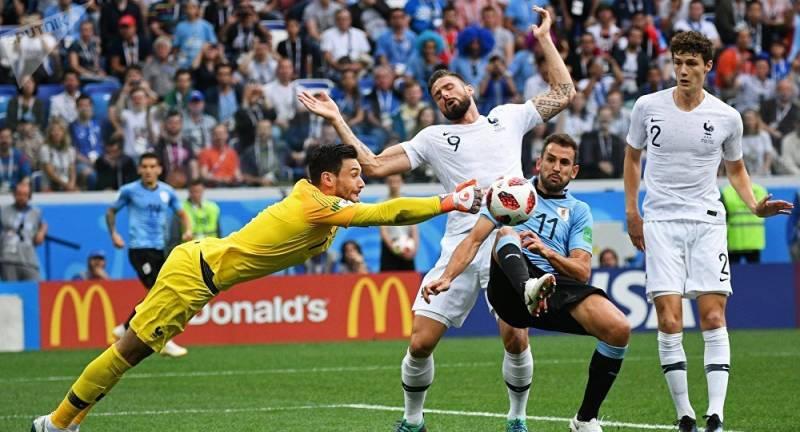 France beats Uruguay 2-0, reaches World Cup semifinals