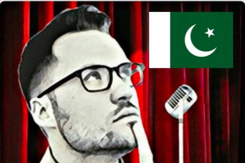 Comedian Jeremy McLellan trolls Reham Khan, encourages people to vote for Imran Khan