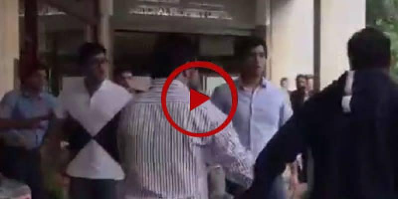 London police arrest Nawaz Sharif's grandsons Junaid Safdar, Zakriya Hussain over brawl (VIDEO)