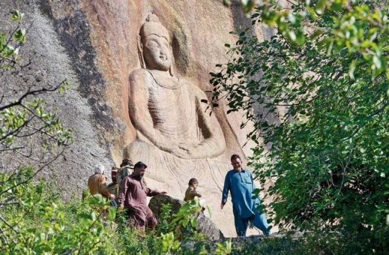 Restoring Heritage: 7th century Buddha smiles again after 11 years