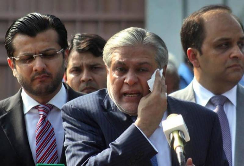 FIA contacts Interpol for red warrant against Ishaq Dar, SC told