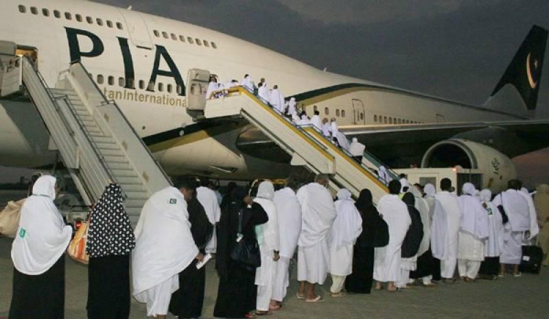 First Hajj flight off to Madinah as operation under govt scheme begins