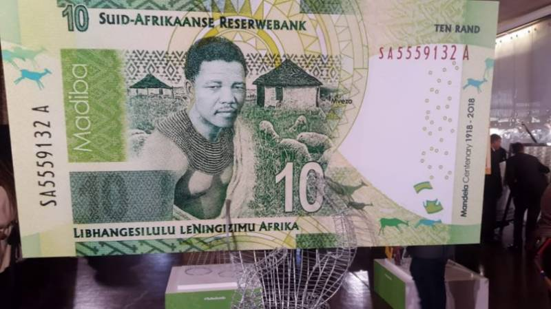 #Payingtribute: South Africa launches Nelson Mandela banknotes on 100th birth anniversary